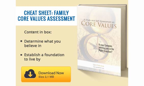 Download the Core Values Assessment Guide by Guy Hatcher